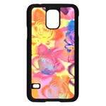 Pop Art Roses Samsung Galaxy S5 Case (Black) Front