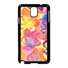 Pop Art Roses Samsung Galaxy Note 3 Neo Hardshell Case (Black)
