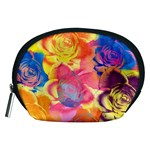 Pop Art Roses Accessory Pouches (Medium)  Front