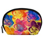 Pop Art Roses Accessory Pouches (Large)  Front