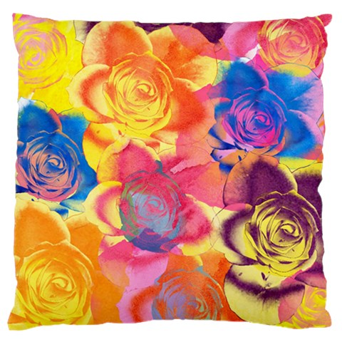Pop Art Roses Standard Flano Cushion Case (Two Sides)
