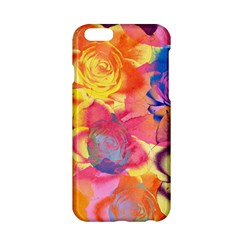 Pop Art Roses Apple iPhone 6/6S Hardshell Case