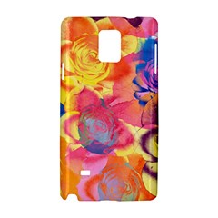 Pop Art Roses Samsung Galaxy Note 4 Hardshell Case