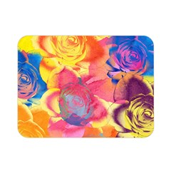 Pop Art Roses Double Sided Flano Blanket (mini)