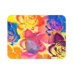Pop Art Roses Double Sided Flano Blanket (Mini)  35 x27 Blanket Back