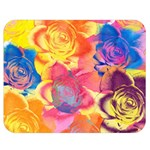Pop Art Roses Double Sided Flano Blanket (Medium)  60 x50 Blanket Back