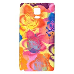 Pop Art Roses Galaxy Note 4 Back Case