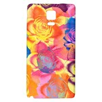 Pop Art Roses Galaxy Note 4 Back Case Front
