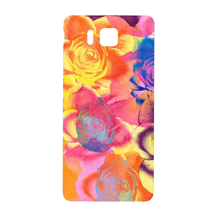 Pop Art Roses Samsung Galaxy Alpha Hardshell Back Case