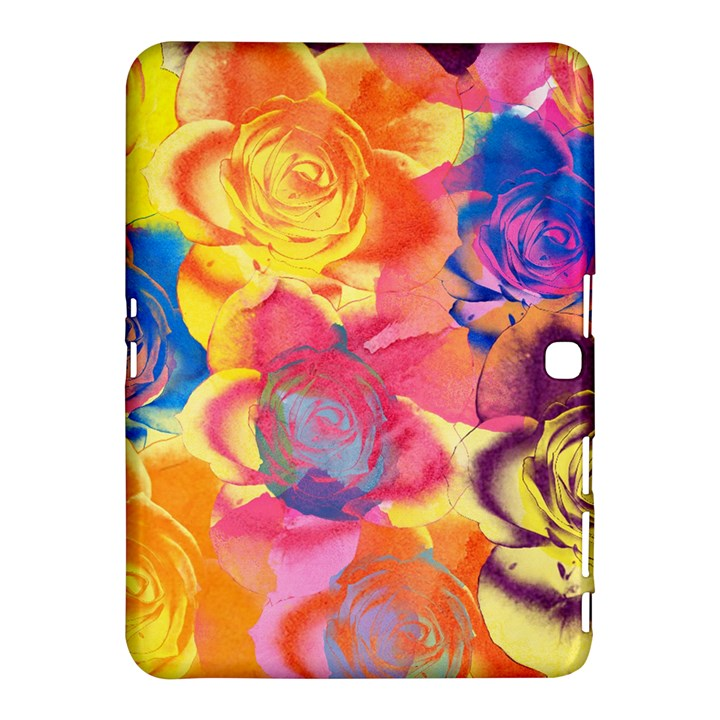 Pop Art Roses Samsung Galaxy Tab 4 (10.1 ) Hardshell Case