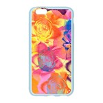 Pop Art Roses Apple Seamless iPhone 6/6S Case (Color) Front