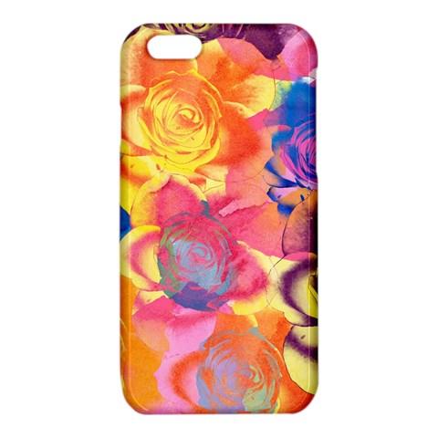 Pop Art Roses iPhone 6/6S TPU Case