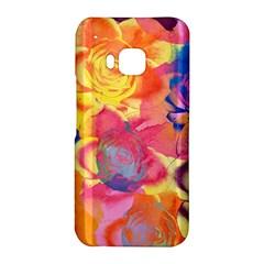 Pop Art Roses HTC One M9 Hardshell Case