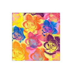 Pop Art Roses Satin Bandana Scarf