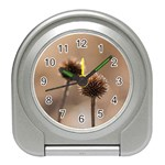 2  Verwelkte Kugeldistel Travel Alarm Clocks Front
