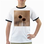 2  Verwelkte Kugeldistel Ringer T-Shirts Front