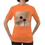 2  Verwelkte Kugeldistel Women s Dark T-Shirt Front