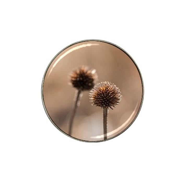 2  Verwelkte Kugeldistel Hat Clip Ball Marker