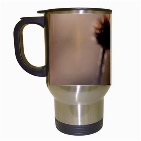 2  Verwelkte Kugeldistel Travel Mugs (White)