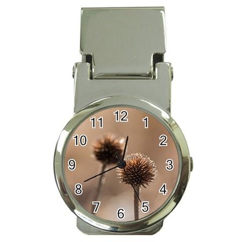 2  Verwelkte Kugeldistel Money Clip Watches