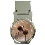 2  Verwelkte Kugeldistel Money Clip Watches Front