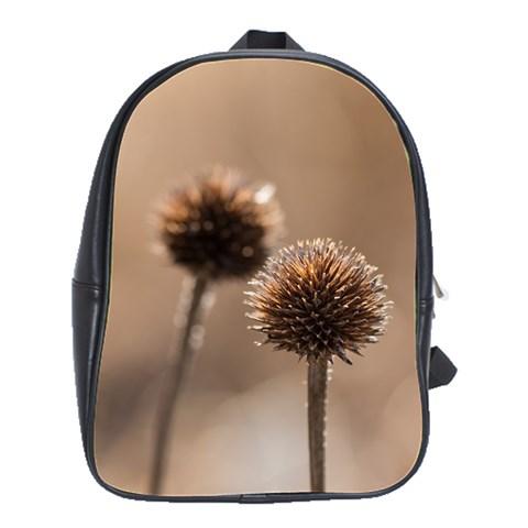 2  Verwelkte Kugeldistel School Bags(Large)