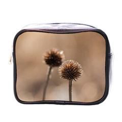 2  Verwelkte Kugeldistel Mini Toiletries Bags