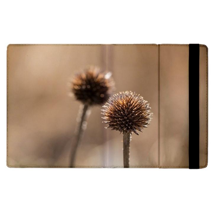 2  Verwelkte Kugeldistel Apple iPad 3/4 Flip Case