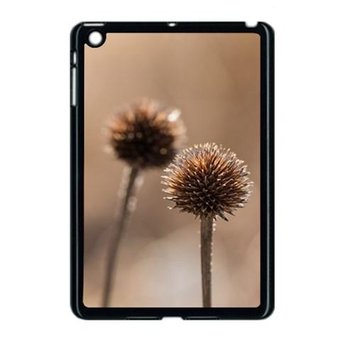 2  Verwelkte Kugeldistel Apple iPad Mini Case (Black)