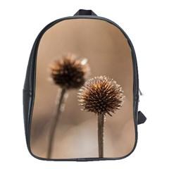 2  Verwelkte Kugeldistel School Bags (XL)