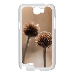 2  Verwelkte Kugeldistel Samsung Galaxy Note 2 Case (White)