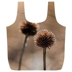 2  Verwelkte Kugeldistel Full Print Recycle Bags (L)