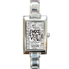 Pierce The Veil Music Band Group Fabric Art Cloth Poster Rectangle Italian Charm Watch