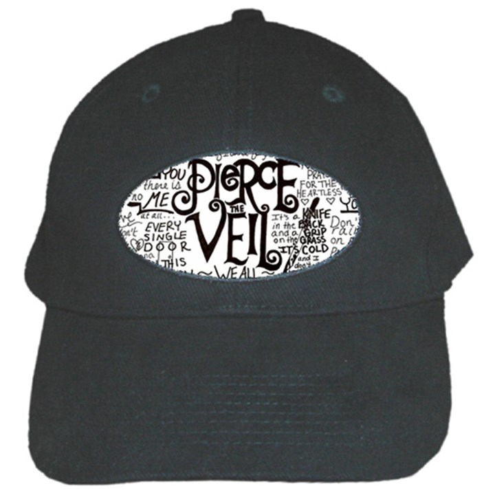 Pierce The Veil Music Band Group Fabric Art Cloth Poster Black Cap