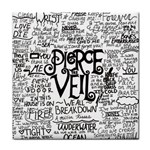 Pierce The Veil Music Band Group Fabric Art Cloth Poster Tile Coasters Front