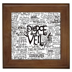 Pierce The Veil Music Band Group Fabric Art Cloth Poster Framed Tiles