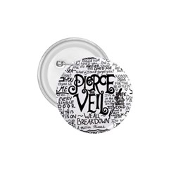 Pierce The Veil Music Band Group Fabric Art Cloth Poster 1.75  Buttons