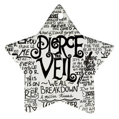 Pierce The Veil Music Band Group Fabric Art Cloth Poster Ornament (Star)