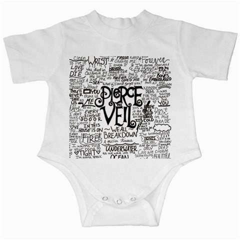 Pierce The Veil Music Band Group Fabric Art Cloth Poster Infant Creepers