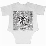Pierce The Veil Music Band Group Fabric Art Cloth Poster Infant Creepers Back
