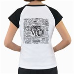 Pierce The Veil Music Band Group Fabric Art Cloth Poster Women s Cap Sleeve T Back