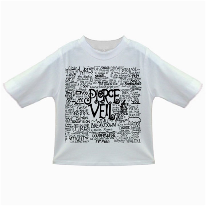 Pierce The Veil Music Band Group Fabric Art Cloth Poster Infant/Toddler T-Shirts