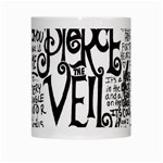 Pierce The Veil Music Band Group Fabric Art Cloth Poster White Mugs Center