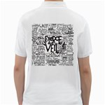 Pierce The Veil Music Band Group Fabric Art Cloth Poster Golf Shirts Back
