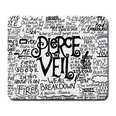 Pierce The Veil Music Band Group Fabric Art Cloth Poster Large Mousepads