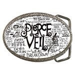Pierce The Veil Music Band Group Fabric Art Cloth Poster Belt Buckles Front