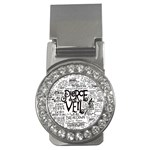 Pierce The Veil Music Band Group Fabric Art Cloth Poster Money Clips (CZ)  Front
