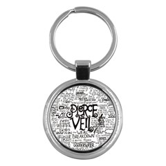 Pierce The Veil Music Band Group Fabric Art Cloth Poster Key Chains (Round)