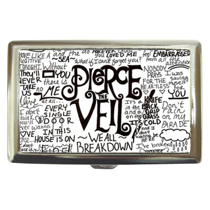 Pierce The Veil Music Band Group Fabric Art Cloth Poster Cigarette Money Cases