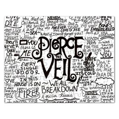 Pierce The Veil Music Band Group Fabric Art Cloth Poster Rectangular Jigsaw Puzzl